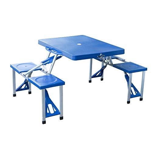 mejor mesa para camping y playa
