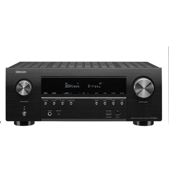 Onkyo TX-NR676E-B 165 W por Canal, Dolby Atmos, DTS, WiFi, Bluetooth, Fireconnect Color Negro Receptor AV 7.2