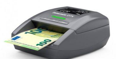 mejor detector de billetes falsos
