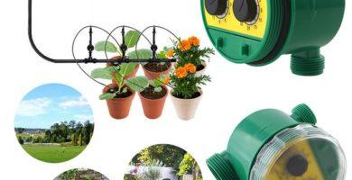 mejor temporizador de agua para flores